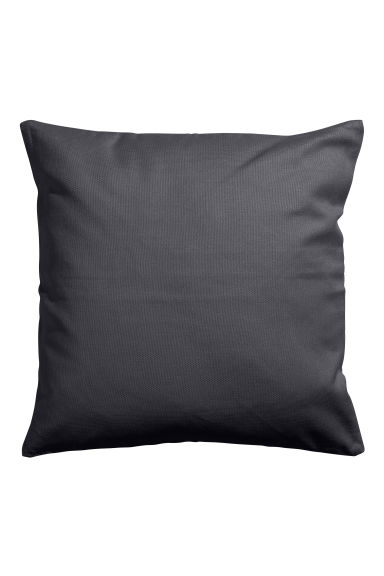 Copricuscino in tela - Grigio antracite - HOME | H&M IT 1